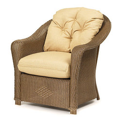 Wicker Paradise - Replacement Cushions for Lloyd Flanders Reflections Chair - Our replacement cushions are made to fit Lloyd Flanders wicker furniture.  Replace your existing cushions to give a new look to your collection! The cushion is offered in Dupione Bamboo premium fabric.