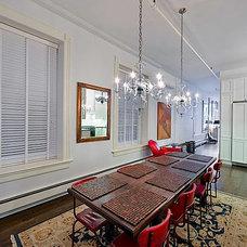 Eclectic Kitchen Soho Loft