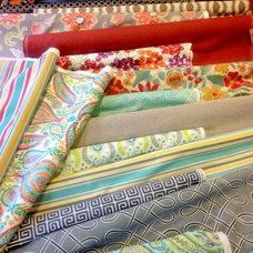 Eclectic Upholstery Fabric by MATERIAL THINGS
