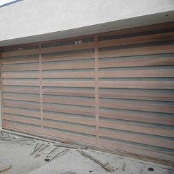 Modern Wood Garage Doors Made by ETOGarageDoors - ETO Garage Doors