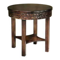 Luana Round Side Table