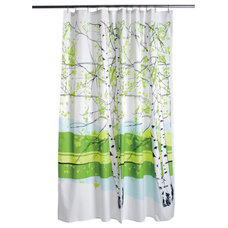 Contemporary Shower Curtains by FinnStyle