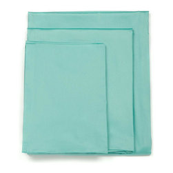 LaCozi - Solid Tiffany Blue Sheet Set, King - 820TC High Quality Sheet Set Includes: