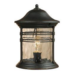 Elk Lighting - Elk Lighting 08169-MBG Outdoor Post Light - Elk Lighting 08169-MBG Outdoor Post Light