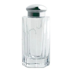 Alessi - Alessi Oil and Vinegar Cruet - Dress up your dressings with this oil-vinegar cruet made of mirror-polished steel and glass. It's perfectly transparent, making it easy to see anytime your condiments need refilling. From casual family meals to upscale feasts, it makes a handy addition to any dining occasion.