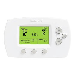 HONEYWELL - HONEYWELL PROGRAMMABLE DIGITAL T-STAT - | 5 -Year limited warranty |Programmable digital thermostat | Large, clear, backlit display - easy to read in various lighting conditions | Display size options - available in large screen or standard | Precise comfort control (+/- 1