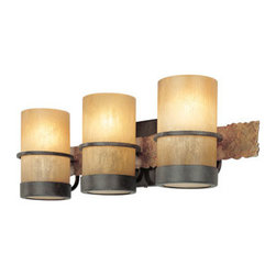 Troy-CSL Lighting - Troy-CSL Lighting B1843BB Bamboo 3 Light Bathroom Vanity Lights in Bamboo Bronze - Bamboo 3Lt Bath