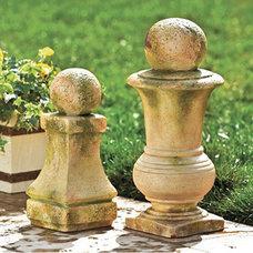 Traditional Garden Sculptures by Ballard Designs