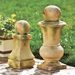 traditional garden sculptures by Ballard Designs