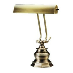 House of Troy - House of Troy P10-111-71 10 Inch Piano/Desk Lamp In Antique Brass - House of Troy P10-111-71 10 Inch Piano/Desk Lamp In Antique Brass