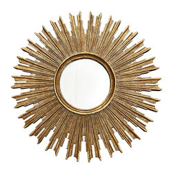 Sunburst On The Scene Mirror - A starburst mirror adds the perfect touch to any room. I love the chunkiness of this one.