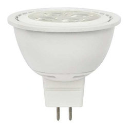 """AF Lighting - Led Mr16 12 Volt 6 Watt Narrow Beam Flood Dimmable Energy Star Certified 25,000 - LED lamp for narrow beam floodlight Dimmable """"Energy Star"""" certified LONG LIFE 25,000-hours average life MR16 12 VOLT 6W, 3000 Kelvins GU53 base UL Listed - Manufacturer: Monument (formerly known as AF LIGHTING) - HARDWARE - FASTENERS - ANCHORS - HOLLOW WALL"""