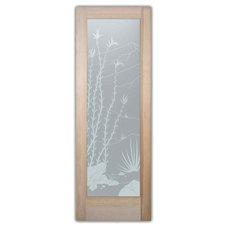 Rustic Interior Doors by Sans Soucie Art Glass