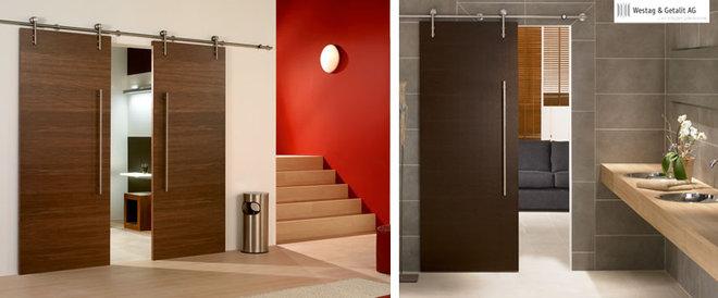 Modern  modern stainless steel sliding door hardware for wood door