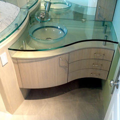 contemporary bathroom vanities and sink consoles by Serrao Cabinets & Design