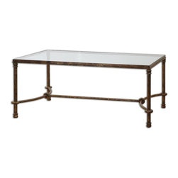 Uttermost - Warring Iron Coffee Table - Warring Iron Coffee Table