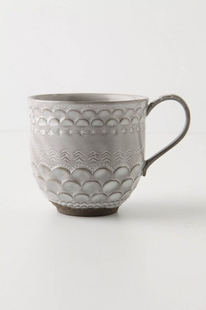 eclectic glassware by Anthropologie