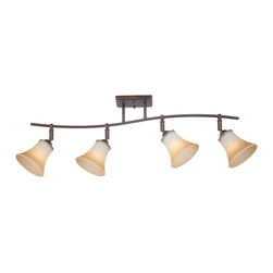 Quoizel - Quoizel DH1404PN Duchess 4 Light Track Lighting in Palladian Bronze - This 4 light Ceiling Track Light from the Duchess collection by Quoizel will enhance your home with a perfect mix of form and function. The features include a Palladian Bronze finish applied by experts. This item qualifies for free shipping!