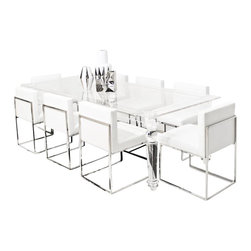 Lucite Beverly Hills Dining Table - As you can clearly see, this beautiful new all lucite dining table is quite a sight. This impressive piece can become and exciting centerpiece, conversation piece and bold statement in your dining room.