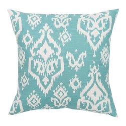 Look Here Jane, LLC - Raji Spirit Blue Pillow Cover - PILLOW COVER