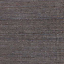 Jaipur Rugs - Naturals Solid Pattern Hemp Gray/Area Rug (8 x 10) - The Rugged collection offers a range of hand woven jute fringed rugs in different solid color options. The weave is textural, rustic and chunky. The rugs are very durable and also reversible making them easy to use.