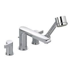 American Standard - Studio Roman Tub Faucet in Polished Chrome - American Standard 2590.900.002 Studio Roman Tub Faucet in Polished Chrome.