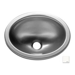 """Lyons Industries - Entertainment Sink, 13""""L x 10.25""""W Oval Acrylic, 1.5"""" Drain Opening, White - Lyons Industries Single 13"""" x 10.25"""" Oval Bowl white acrylic entertainment sink 5.5"""" deep with no faucet holes with a 1.5"""" drain opening. This self rimming sink is easy to install as a remodel or new construction project. This sturdy sink has durable easy to clean high gloss acrylic construction with a fiberglass reinforced insulation backer. This sink is quiet and provides a superior heat retention than other sink materials meaning your water stays warm longer. Lyons sinks come with a simple mounting tab and clip system to firmly fasten the sink to the countertop. Detailed installation instructions include the cut-out specifications. Lyons sinks are proudly made in America by experienced artisans supporting our economy."""