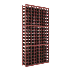 Wine Racks America - 9 Column Standard Wine Cellar Kit in Pine, Cherry + Satin Finish - A 9 column solution from our most popular style of wine racking. Completely solid assembly to withstand extensive use. We guarantee it. All the edges of our products are softened to ensure you won't get nicks or splinters, like you will from budget brands. You'll be satisfied. We guarantee that, too.