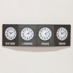 modern clocks by World Market