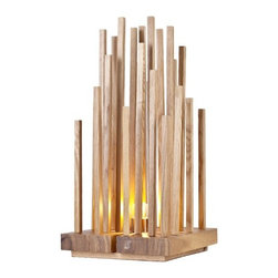 ParrotUncle - Wooden Twig Table Lamp for Home Decoration-Jungle - Wooden Twig Table Lamp for Home Decoration-Jungle