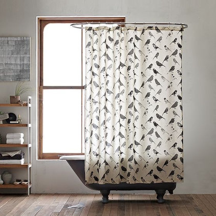 Modern Shower Curtains by West Elm