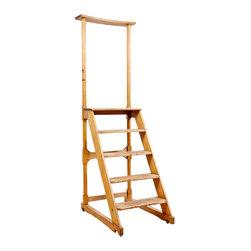 American Antique Library Ladder, c. 1850 - The HighBoy, BonninAshley Antiques