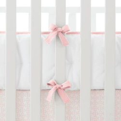 Serena & Lily - Shell Basics Crib Bumper - Our versatile basics work with any of our patterned crib sheets to create the look (or looks) you love.