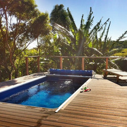 Endless Pools - Original Endless Pools®, Deck Swimming Pool - This Endless Pool comes with its own private boardwalk!