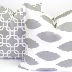ElemenOPillows - Grey Pillow Cover Set