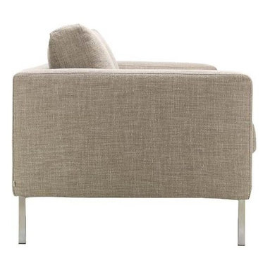 Bensen - Neo Two-Seater Sofa - If you ask Niels Bendtsen why his Neo Collection (1998) is just as relevant today as when he first designed it, he'll point out its proportions, which are something he's developed and perfected over time. In the 1960s, Bendtsen was importing Scandinavian furniture, but began designing his own when he couldn't find the quality and aesthetics he wanted. Neo is a culmination of Bendtsen's experiences as an importer and designer. The frame is hand-built and draws on techniques Bendtsen learned from his father, who also designed furniture. The foam seat cushions are sourced from Italy because he hasn't found any others that offer his ideal mix of firm support and comfort. And the removable cushion covers make Neo an easy-to-live-with collection. Bendtsen's work is in the permanent collection of MoMA, and he was honored with the 2006 British Columbia Creative Achievement Award of Distinction. Made in Canada. Due to the size and weight of this item, we recommend our White Glove delivery service. Please review our shipping options. During checkout you will select the option that best fits your needs.