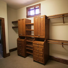 Traditional Closet by Cope Closet Concepts