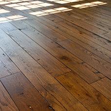 Traditional Wood Flooring by Gander Builders