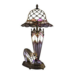 Dale Tiffany - Dale Tiffany 84070 Hat Shoe And Umbrella Table Lamp - Dale Tiffany 84070 Hat Shoe And Umbrella Table Lamp
