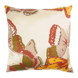 Rizzy Home - Paprika and Gold Decorative Accent Pillows (Set of 2) - T03242 - Set of 2 Pillows.