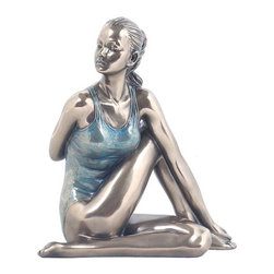 US - 4.5 Inch Figure Woman Yoga Seated Closed Twist Keepsake Display - This gorgeous 4.5 Inch Figure Woman Yoga Seated Closed Twist Keepsake Display has the finest details and highest quality you will find anywhere! 4.5 Inch Figure Woman Yoga Seated Closed Twist Keepsake Display is truly remarkable.