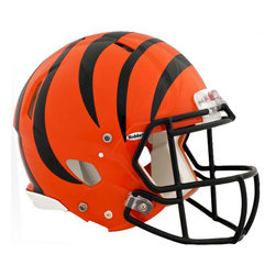 Brewster Home Fashions - NFL Cincinnati Bengals Teammate Helmet 4pc Sticker Decal Set - FEATURES: