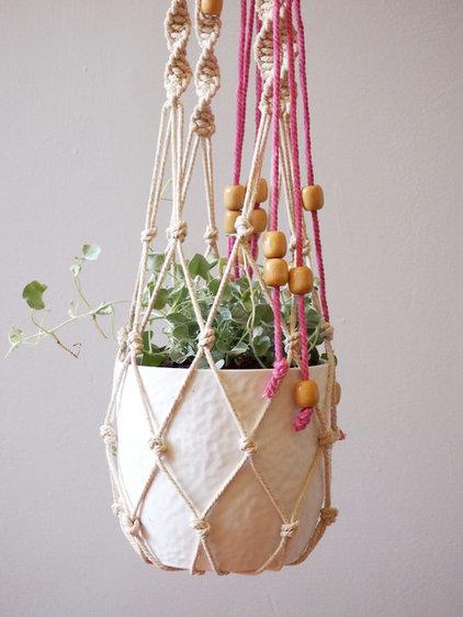 Macramé Planter by ouchflower