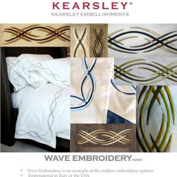 Digital Sample Book - Kearsley Couture Wave Embroidery information