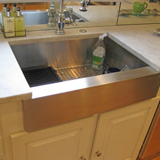 Contemporary Kitchen Sinks by Sea Island Builders LLC