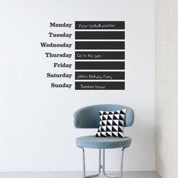 Ferm Living This Week Wallsticker - Ferm Living This Week Wallsticker