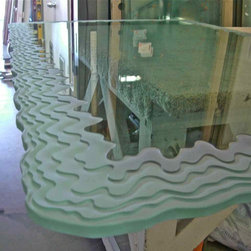 Glass Tables by Sans Soucie Art Glass - A Higher Level of Luxury