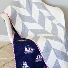 Contemporary Baby Bedding by shop.sarahjanestudios.com