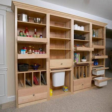 Contemporary Storage And Organization by All The Right Spaces