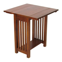 Wayborn - Wayborn Drop Leaf Table in Oak - Wayborn - Dining Tables - 9003